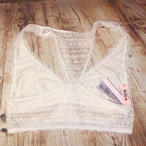 Victoria's Secret Intimates & Sleepwear - NWT! V.S. Lace Racerback Bralette